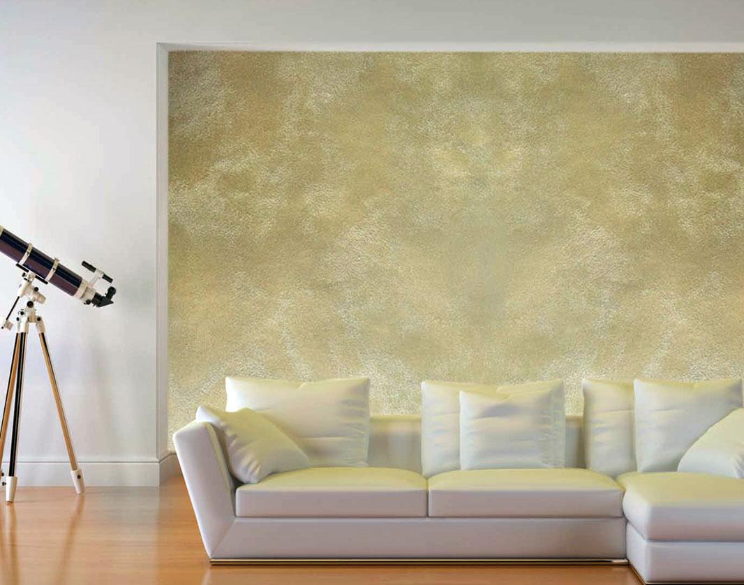 Декоративное покрытие стен в интерьере фото