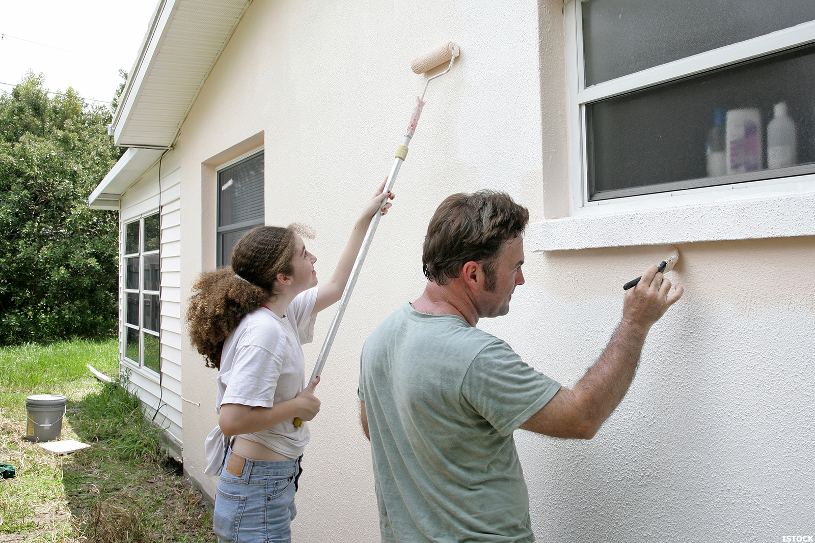 Как сделать краску дом
