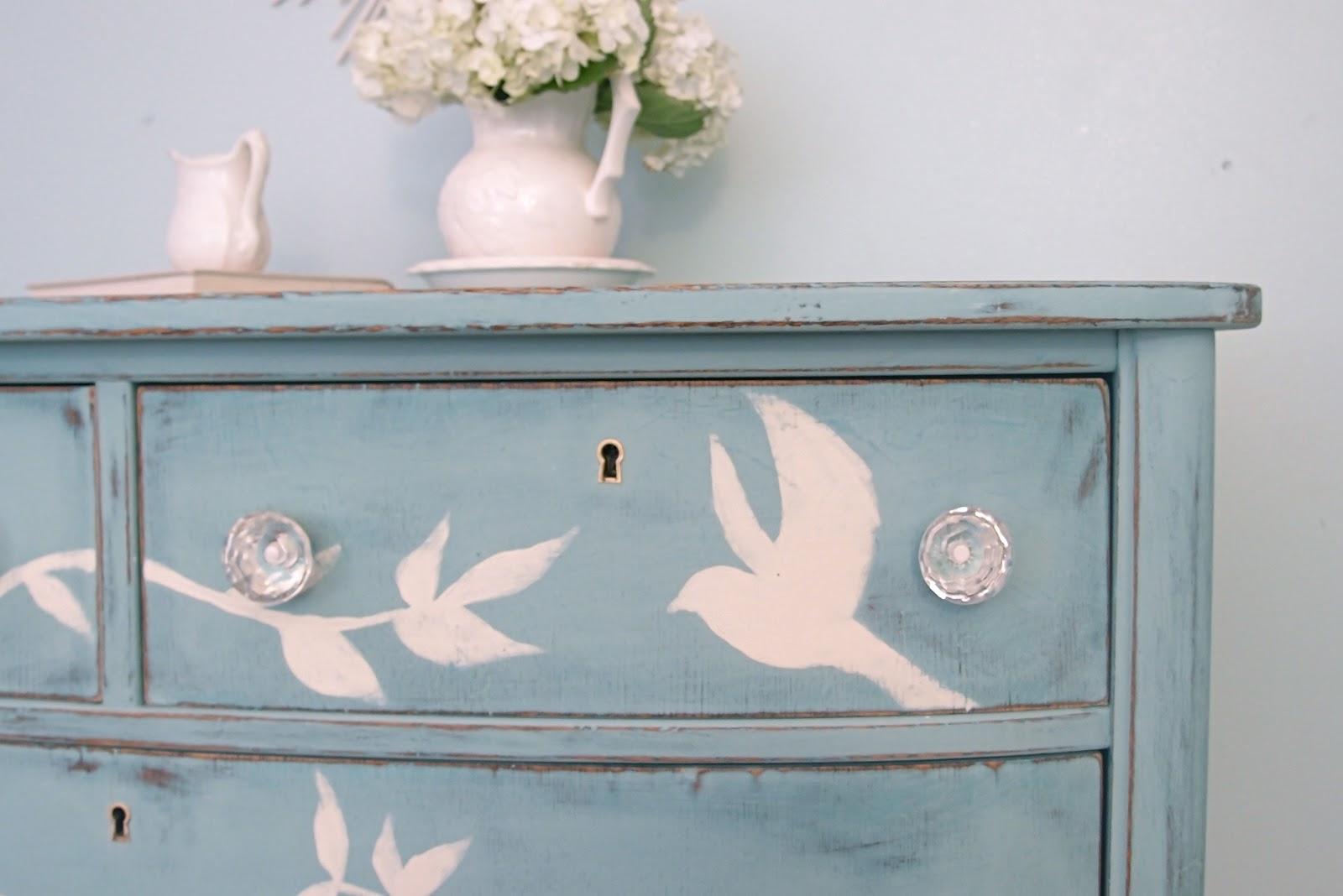 Как покрасить мебель в стиле прованс своими руками 77
