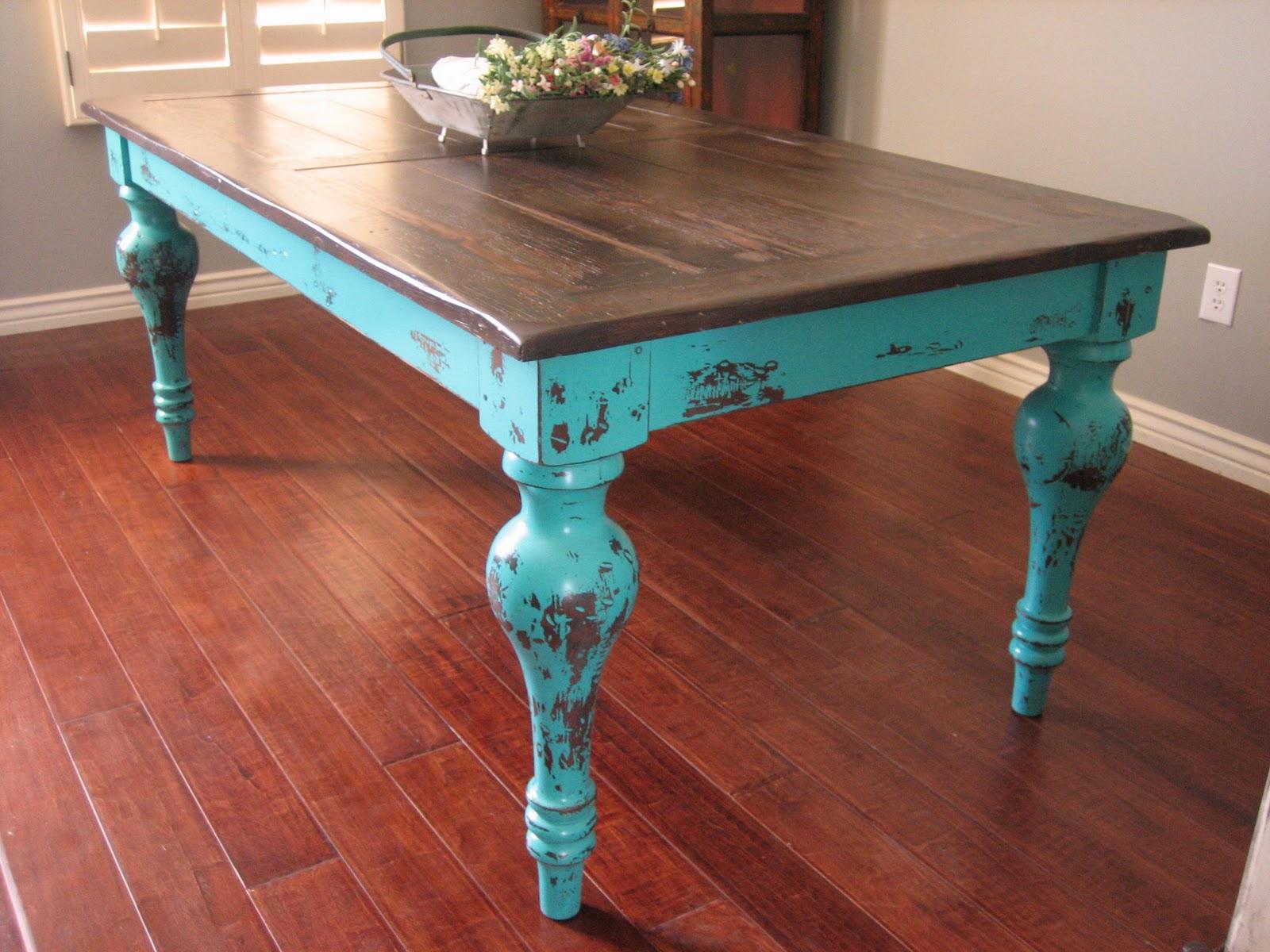 Зеленый столик своими руками