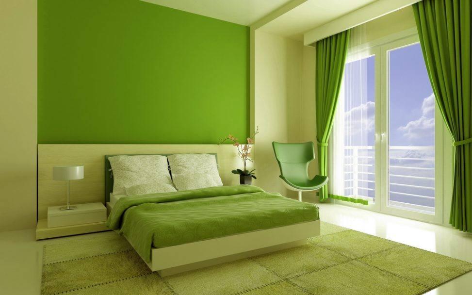 Дизайн комнаты стены под покраску