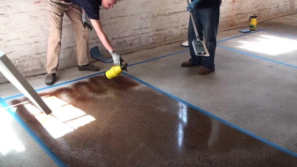 Как сделать бетон красивы 701