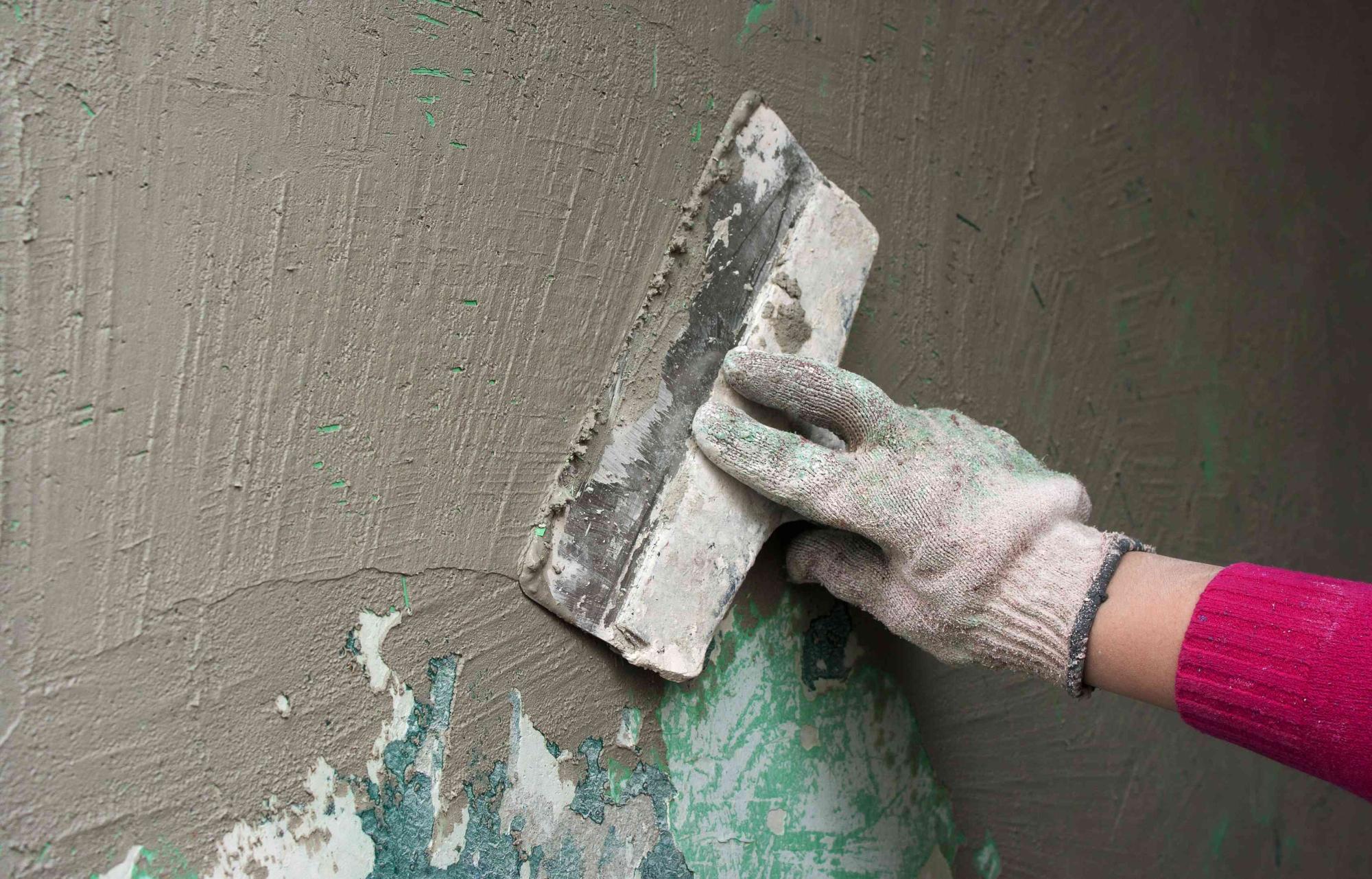 Декоративная штукатурка своими руками подготовка стен 99