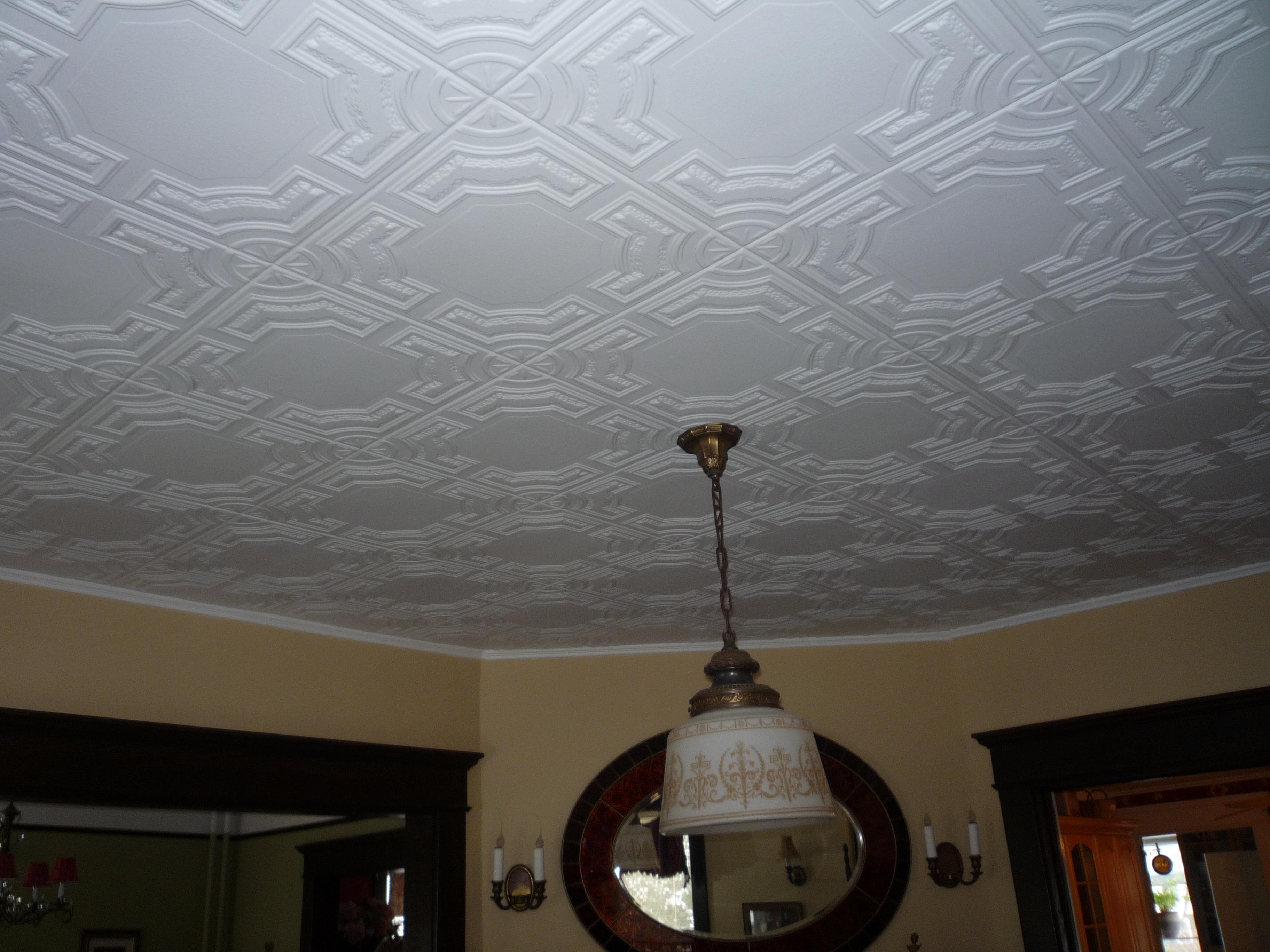 Потолок из потолочной плитки своими руками