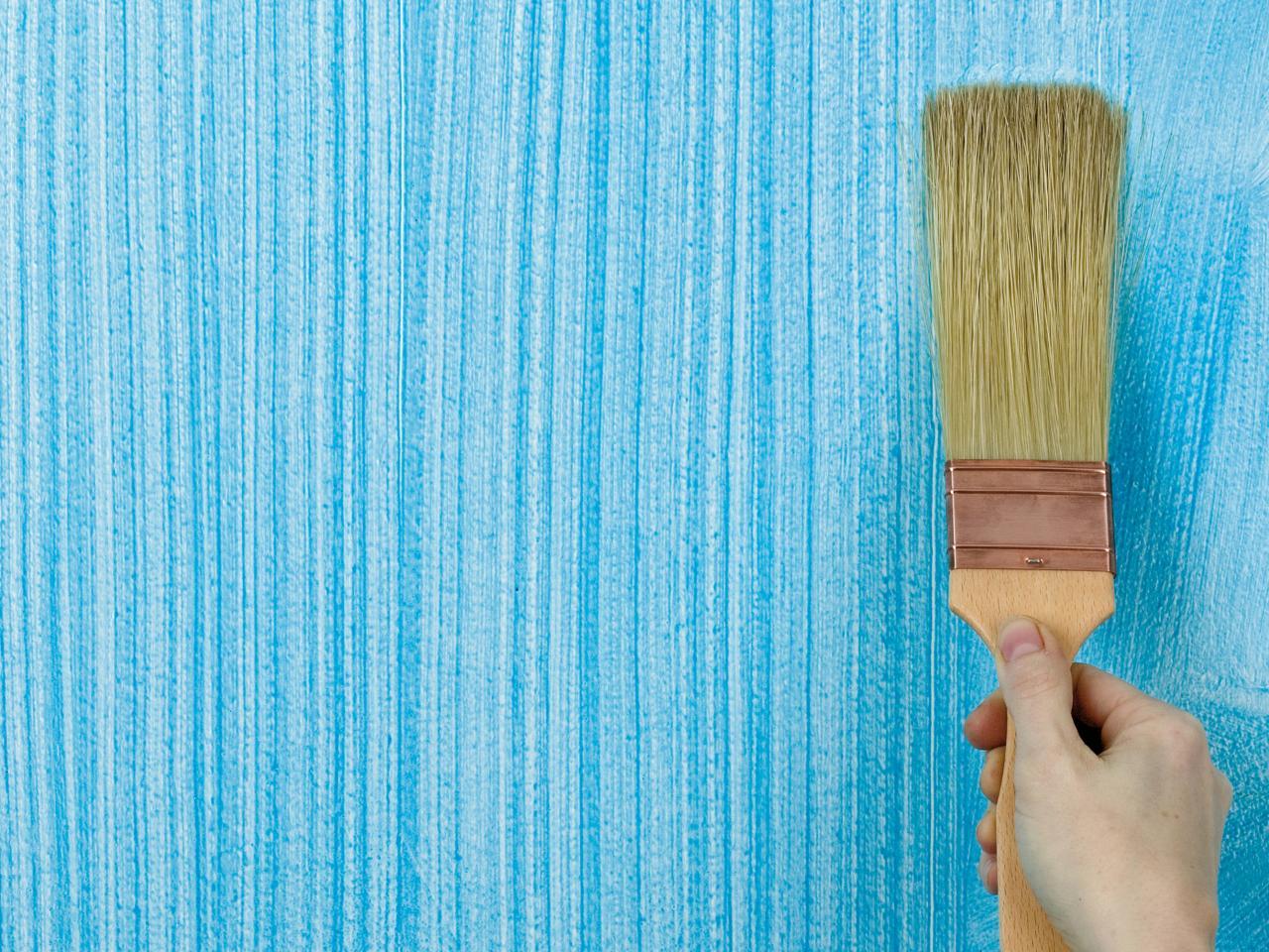 Покраска стен водоэмульсионной краской дизайн фото идеи