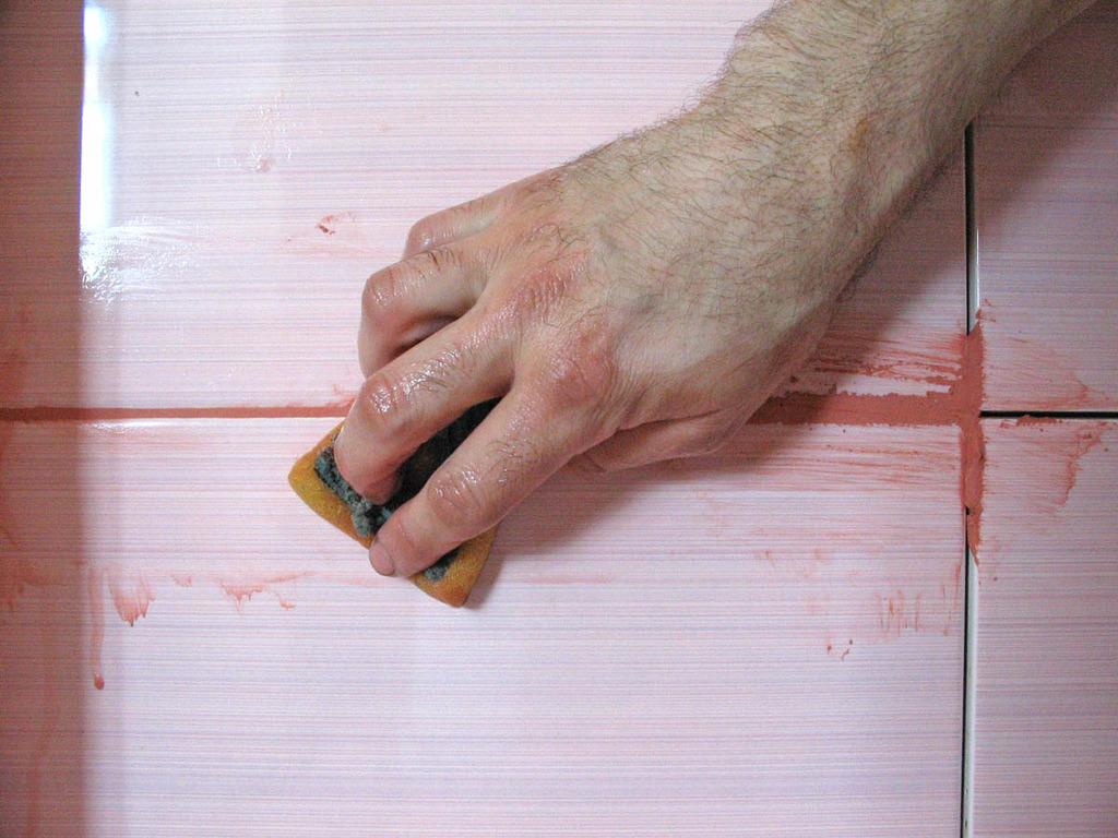 Как сделать красивые швы на плитке