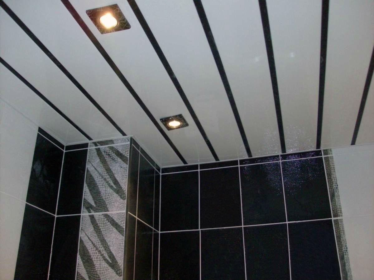 Потолок на кухне из панелей пвх своими руками фото