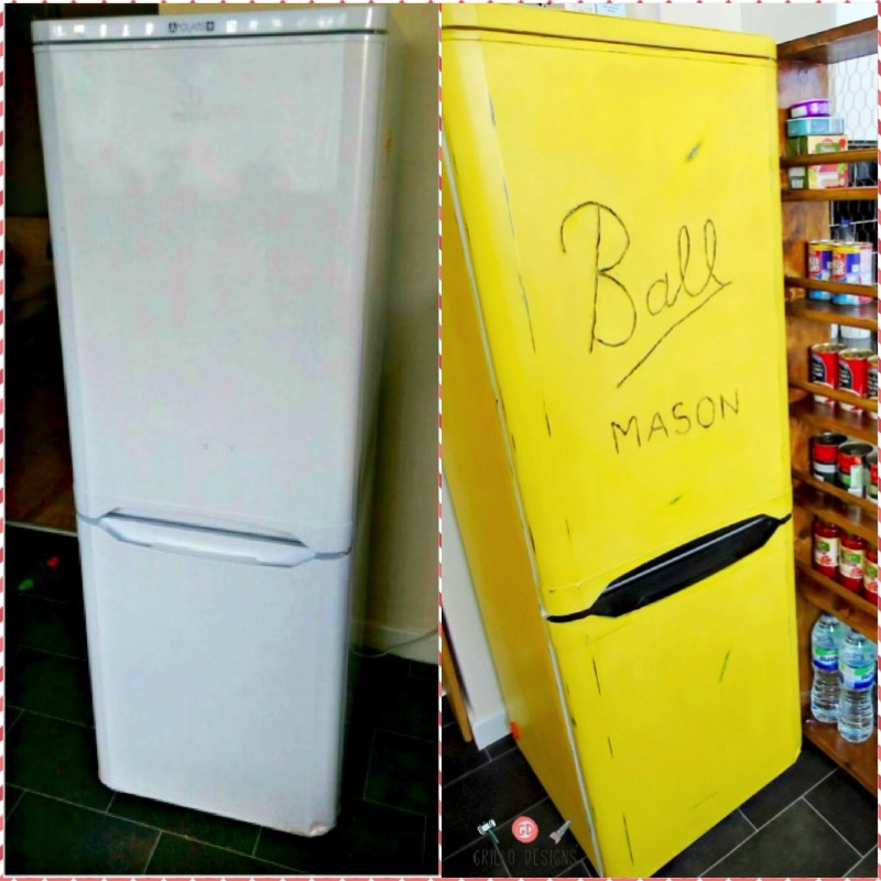Покрасить холодильник