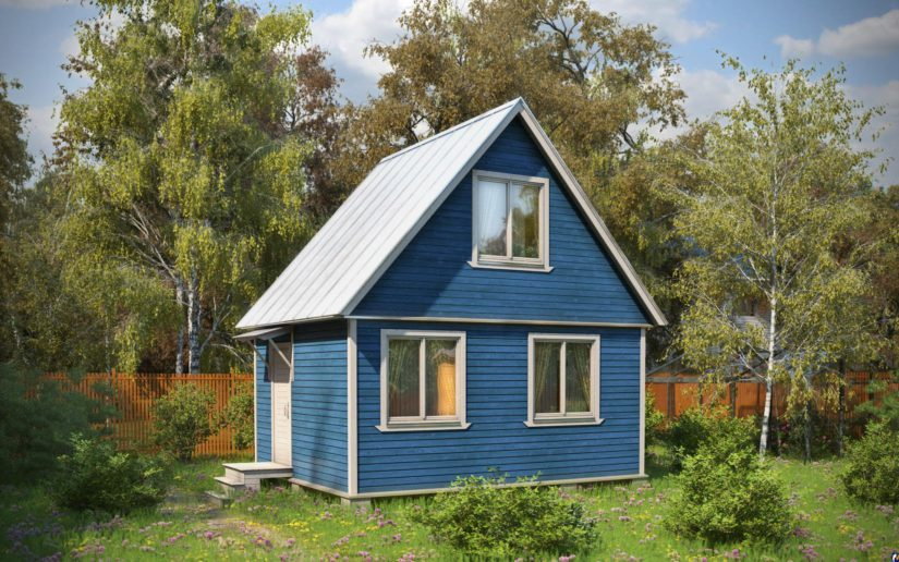 Фото как покрасить старый деревянный дом