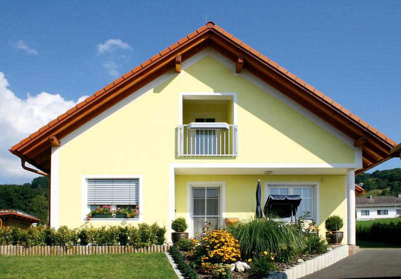 Как покрасить фасад дома своими руками 51