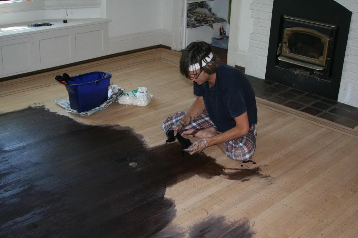 Как сделать краску для пола своими руками