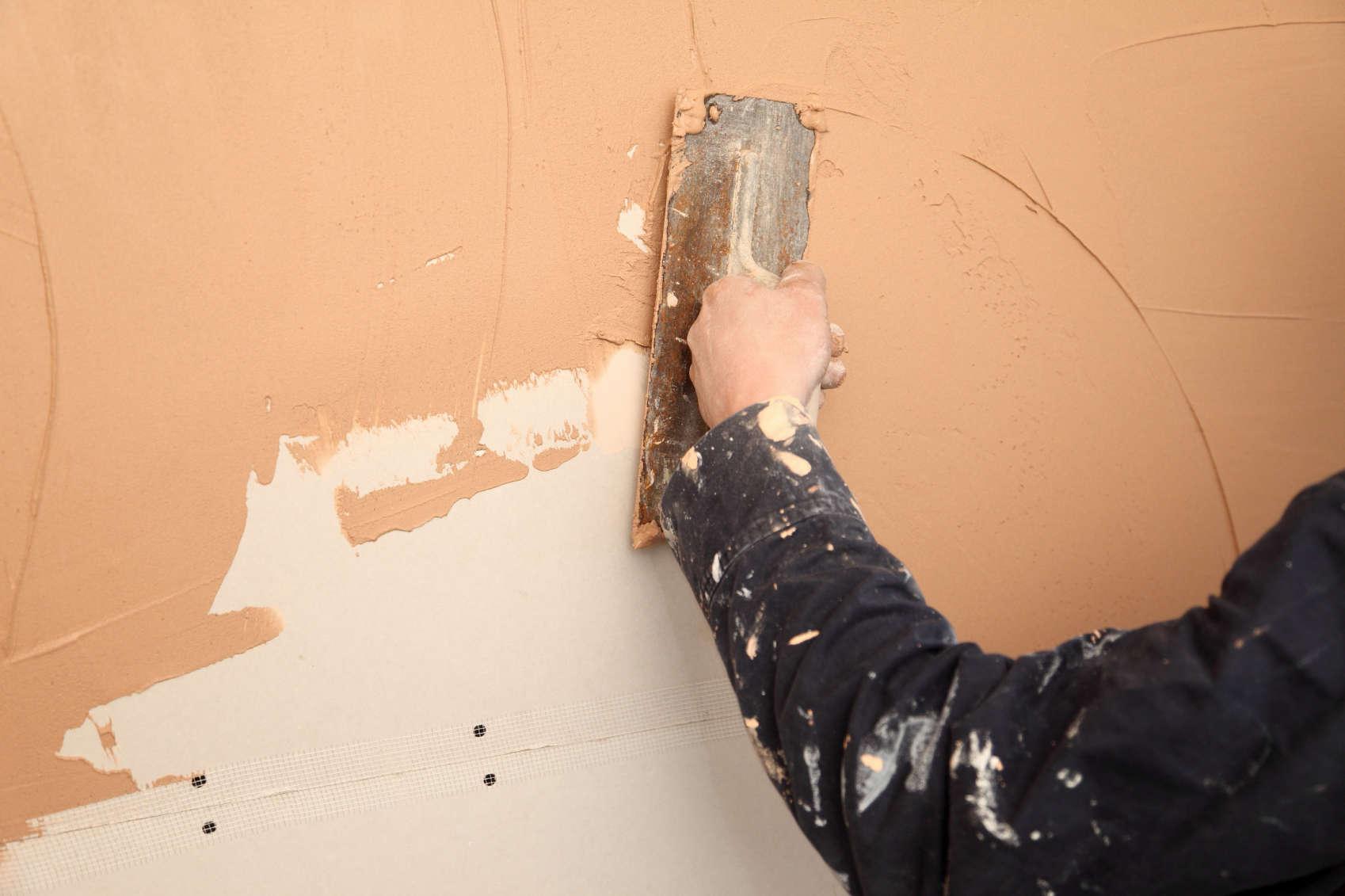 Финишное оштукатуривание стен своими руками 57