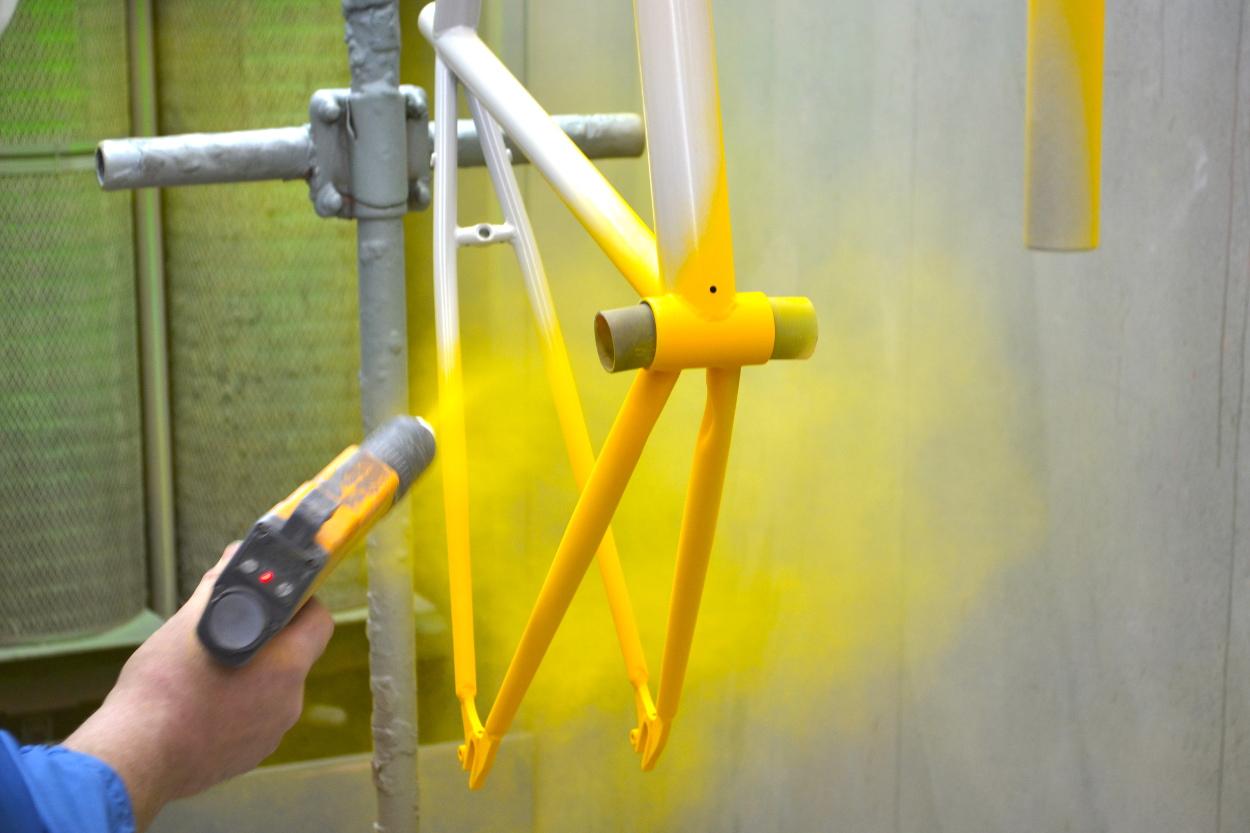 Покрасить порошковой краской в домашних условиях