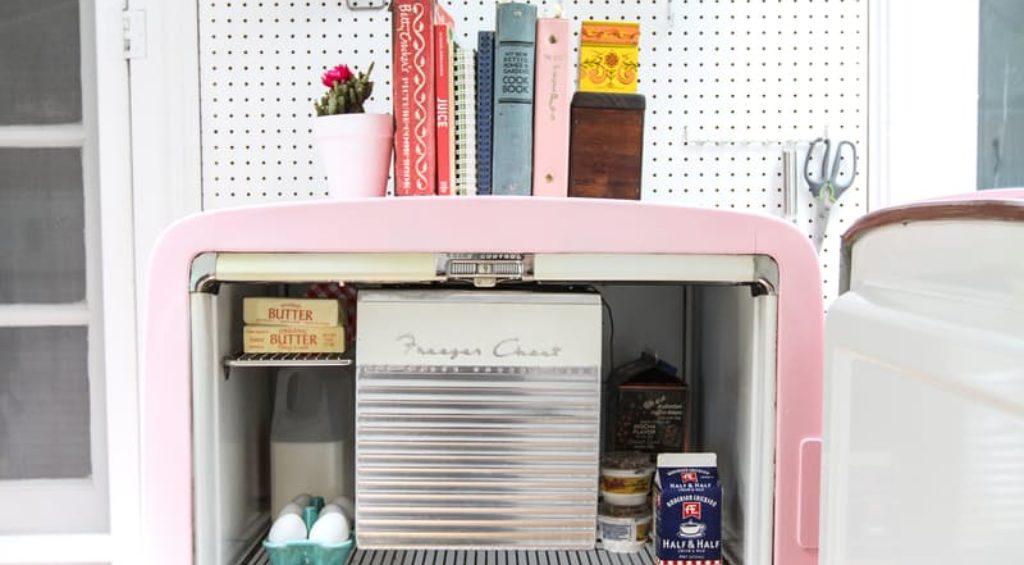 Как отреставрировать старый холодильник фото 48