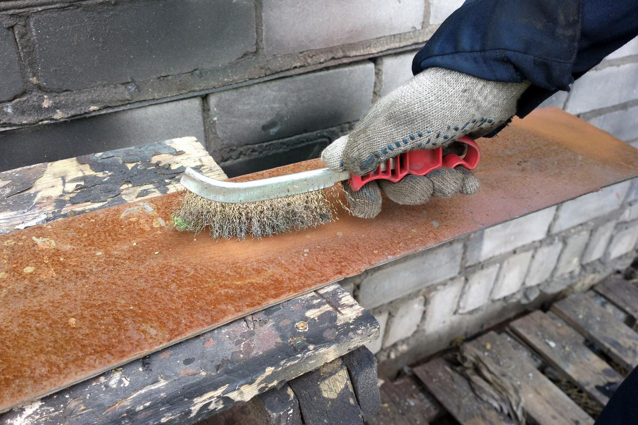 Чем очистить металл от ржавчины в домашних условиях 438