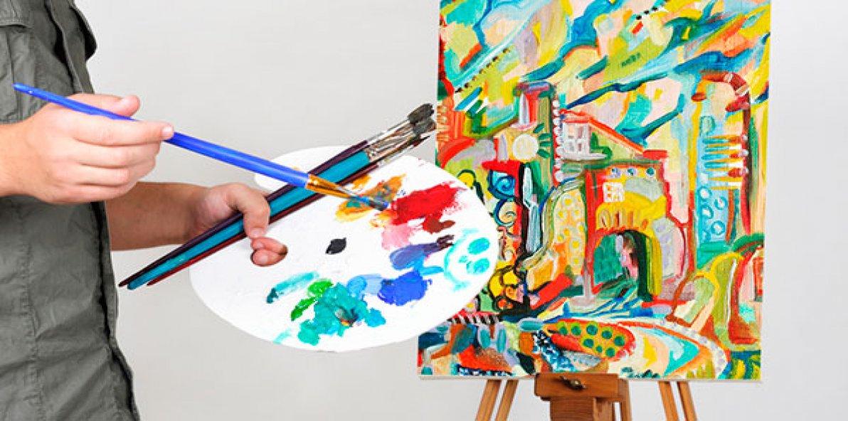 Как называются художники которые рисуют красками