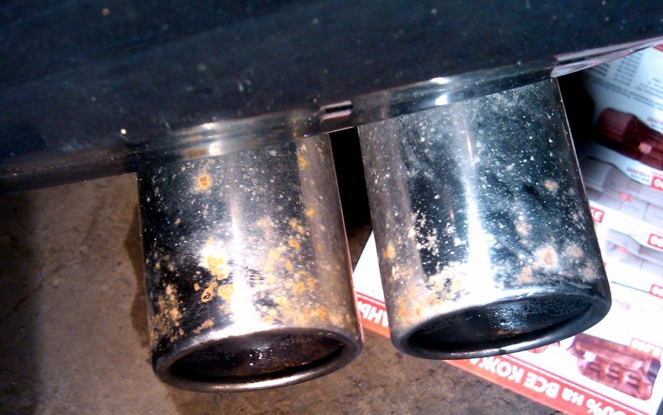 Чем удалить ржавчину с хромированных деталей в домашних условиях