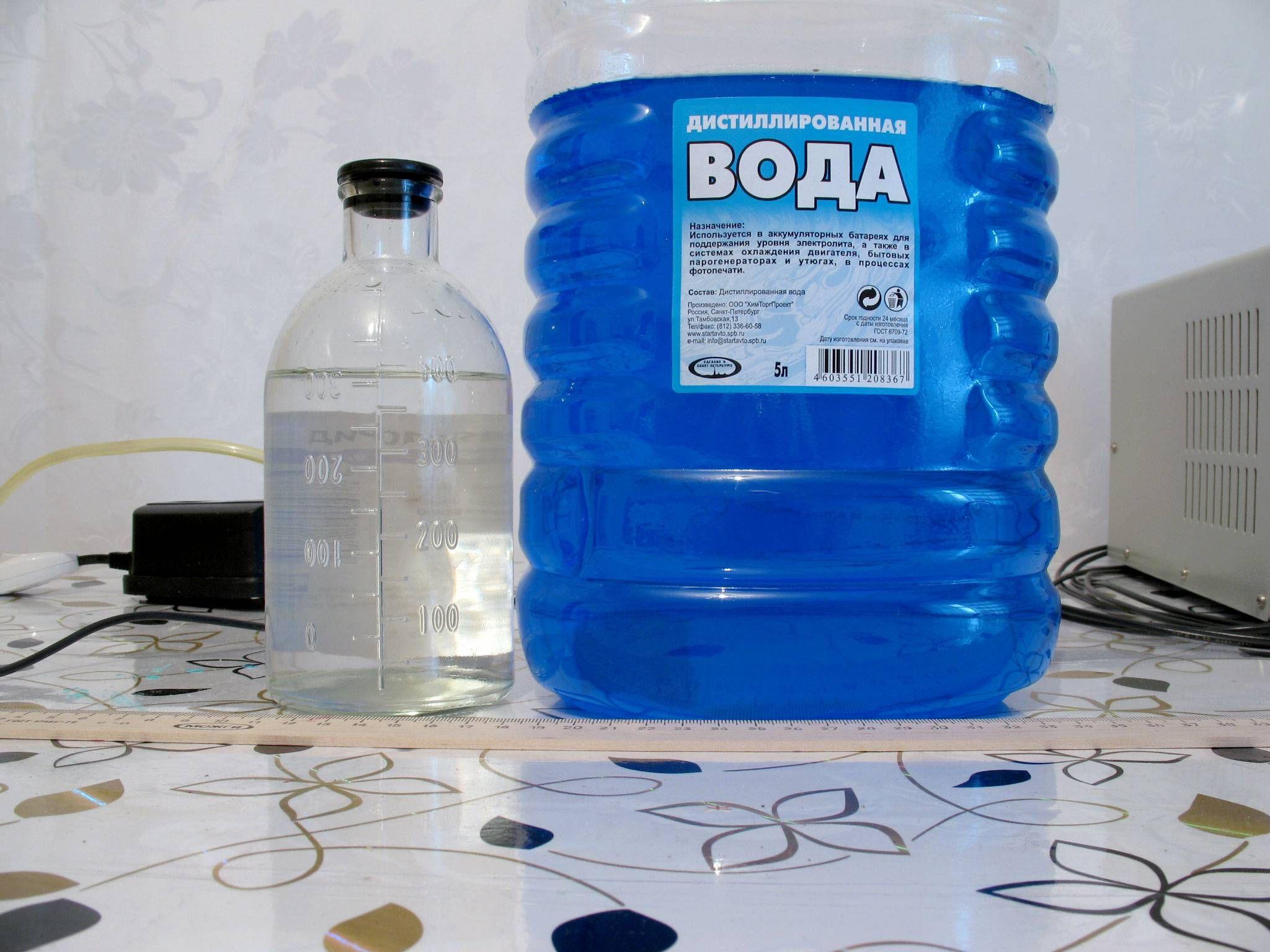 Получение кислоты в домашних условиях. Кислотность воды 29