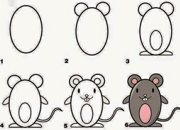 Рисунки для детей 4-5 лет карандашами