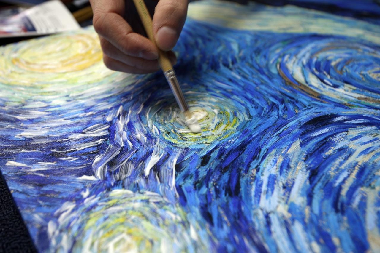 Холст как сделать для акриловых красок