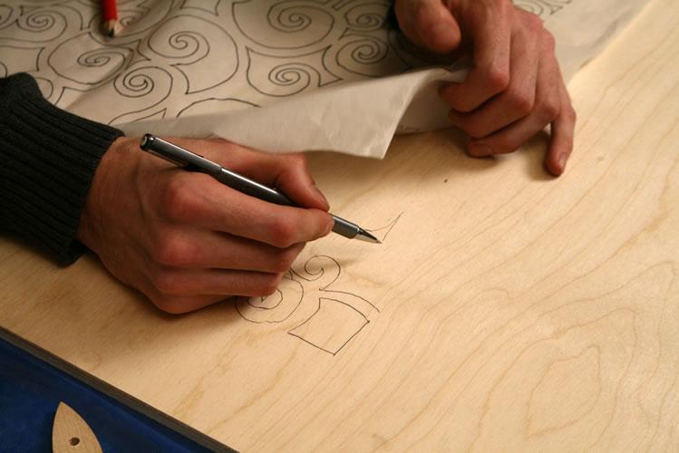 Рисовать на заготовках