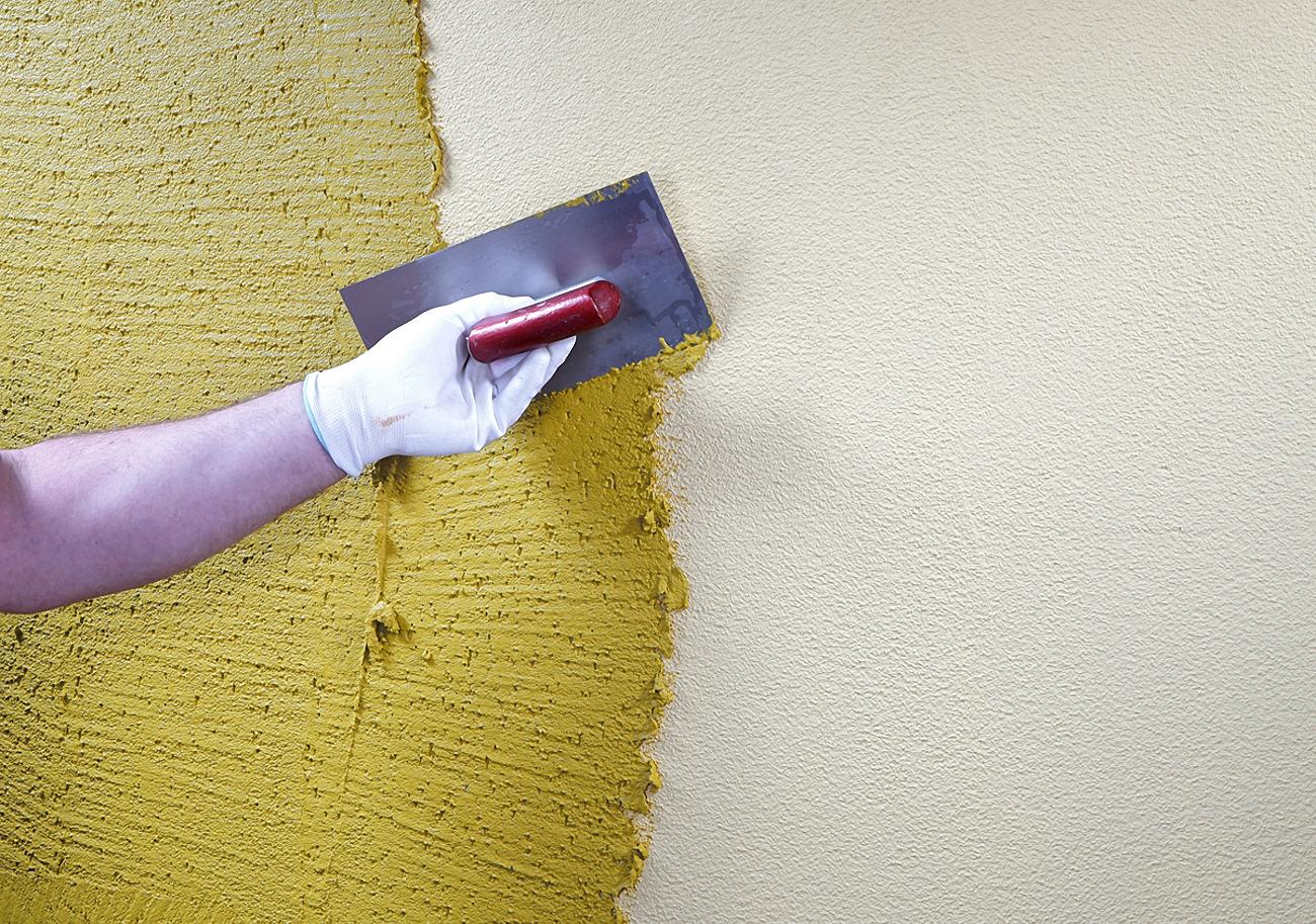 Оштукатурить стены декоративной штукатуркой своими руками