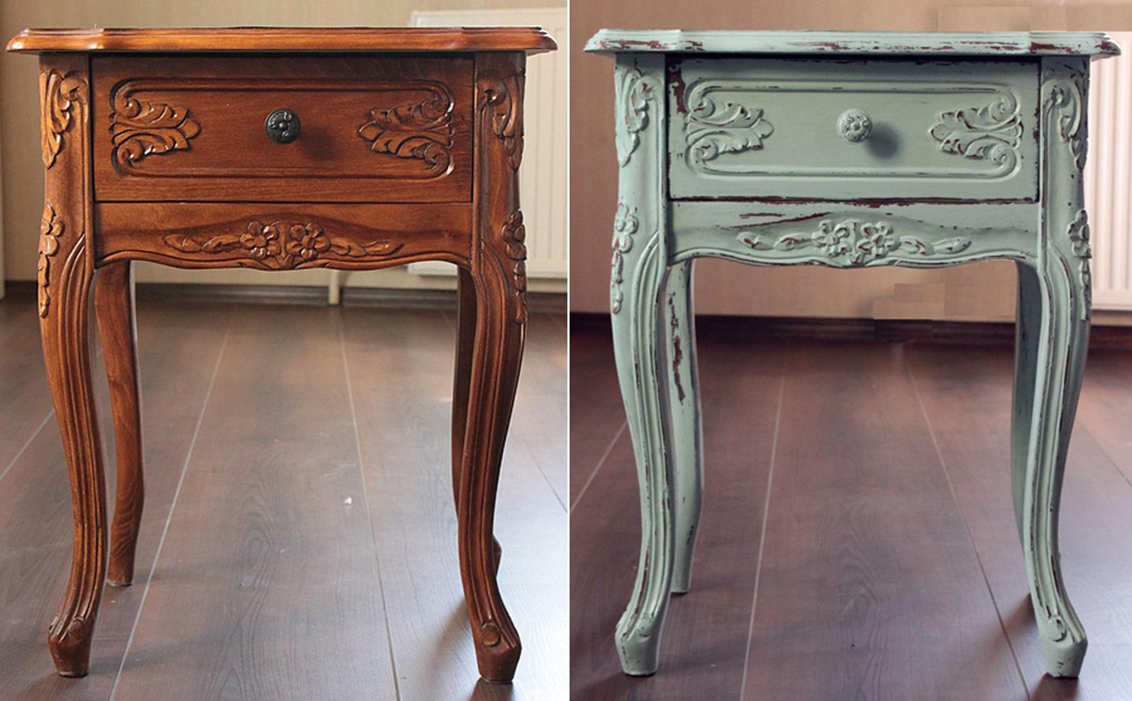 Фото реставрированной мебели своими руками