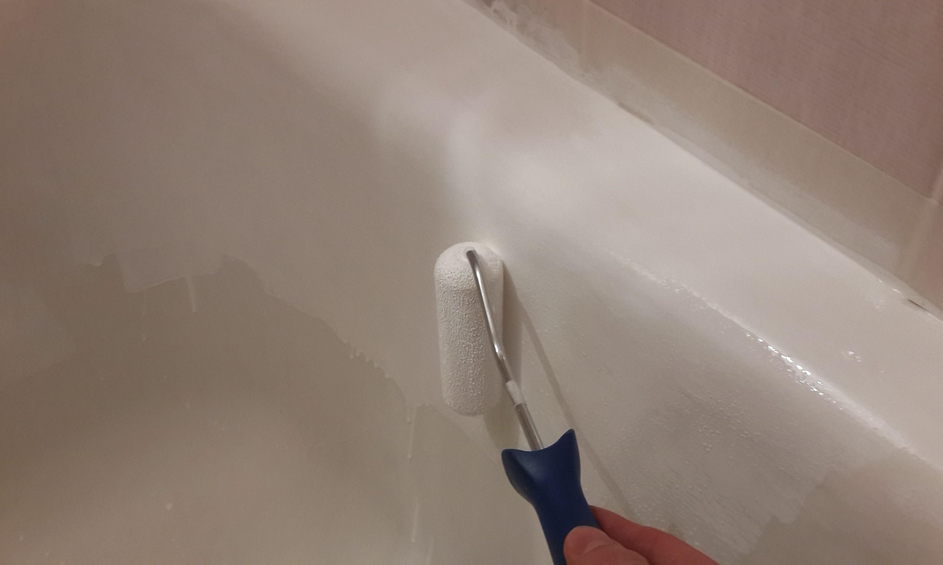 Как покрасить старую ванну своими руками