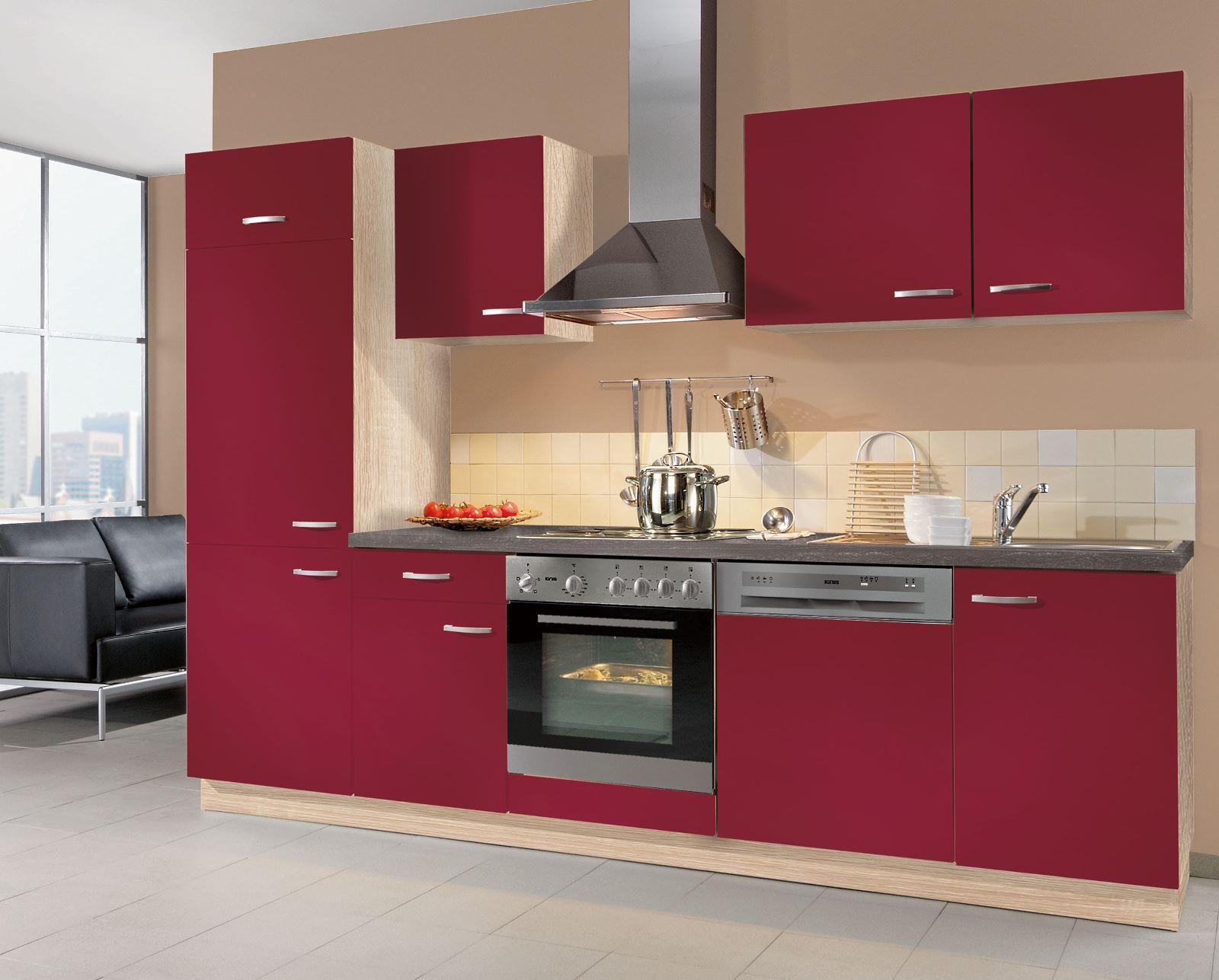 кухни вишневого цвета фото причиной