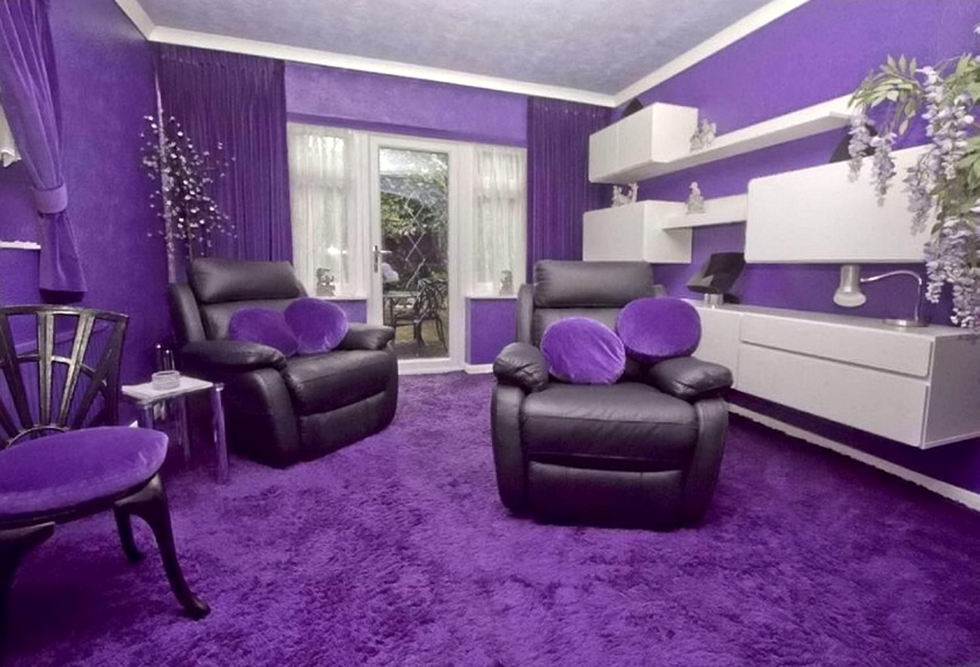 современные картинки в фиолетовом цвете фото каркасно-щитовые дома более