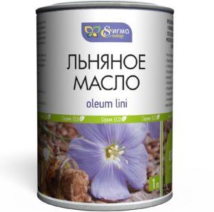 Льняное масло для пропитки древесины