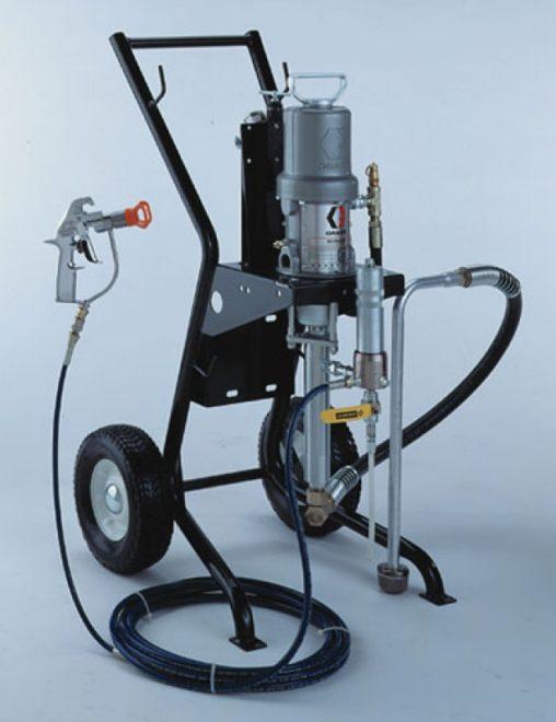 Электрический аппарат для безвоздушной покраски