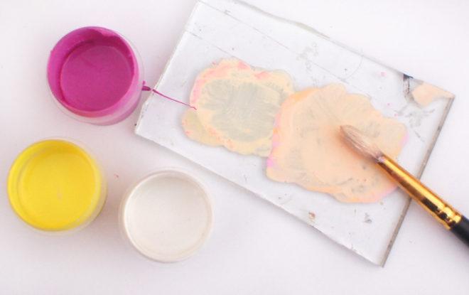 Как сделать бежевый цвет из гуаши