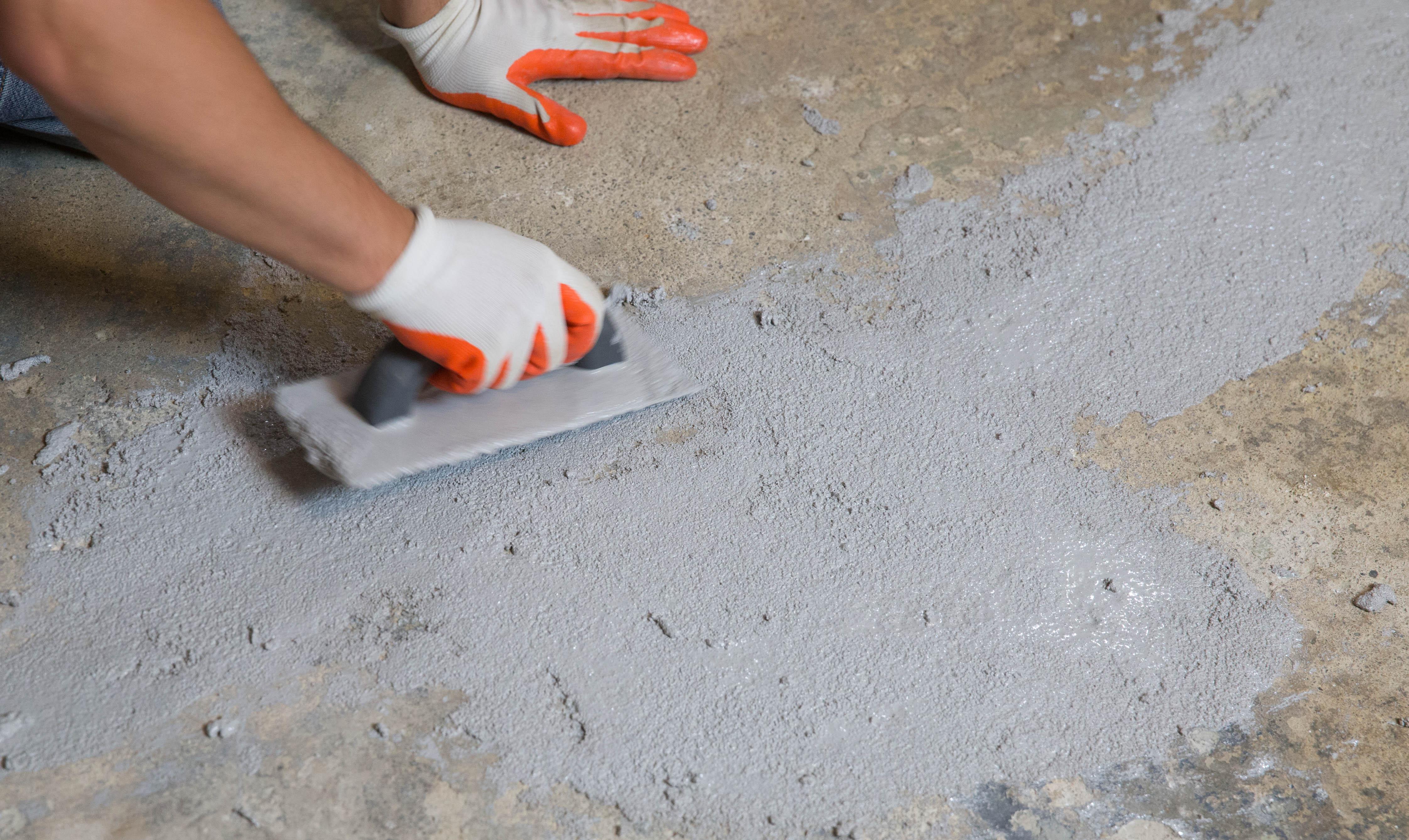 заделка раковин в бетоне