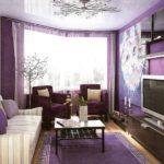 Фиолетовый дизайн
