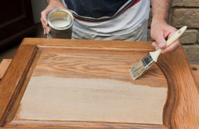 Грунтовка деревянной мебели