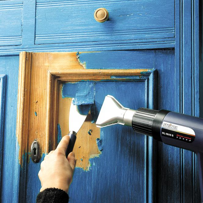 Как убрать старую краску с деревянной поверхности