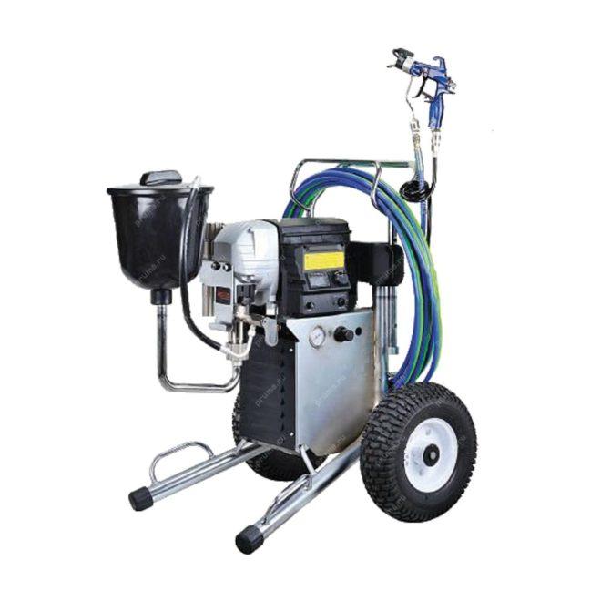 Электрический поршневой агрегат комбинированного распыления