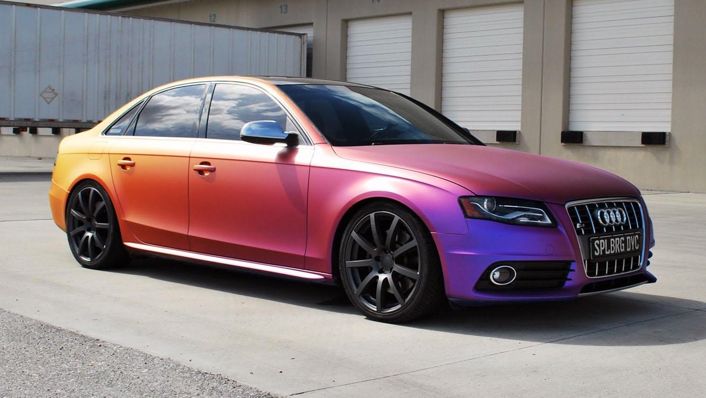 Матовый цвет машины цена
