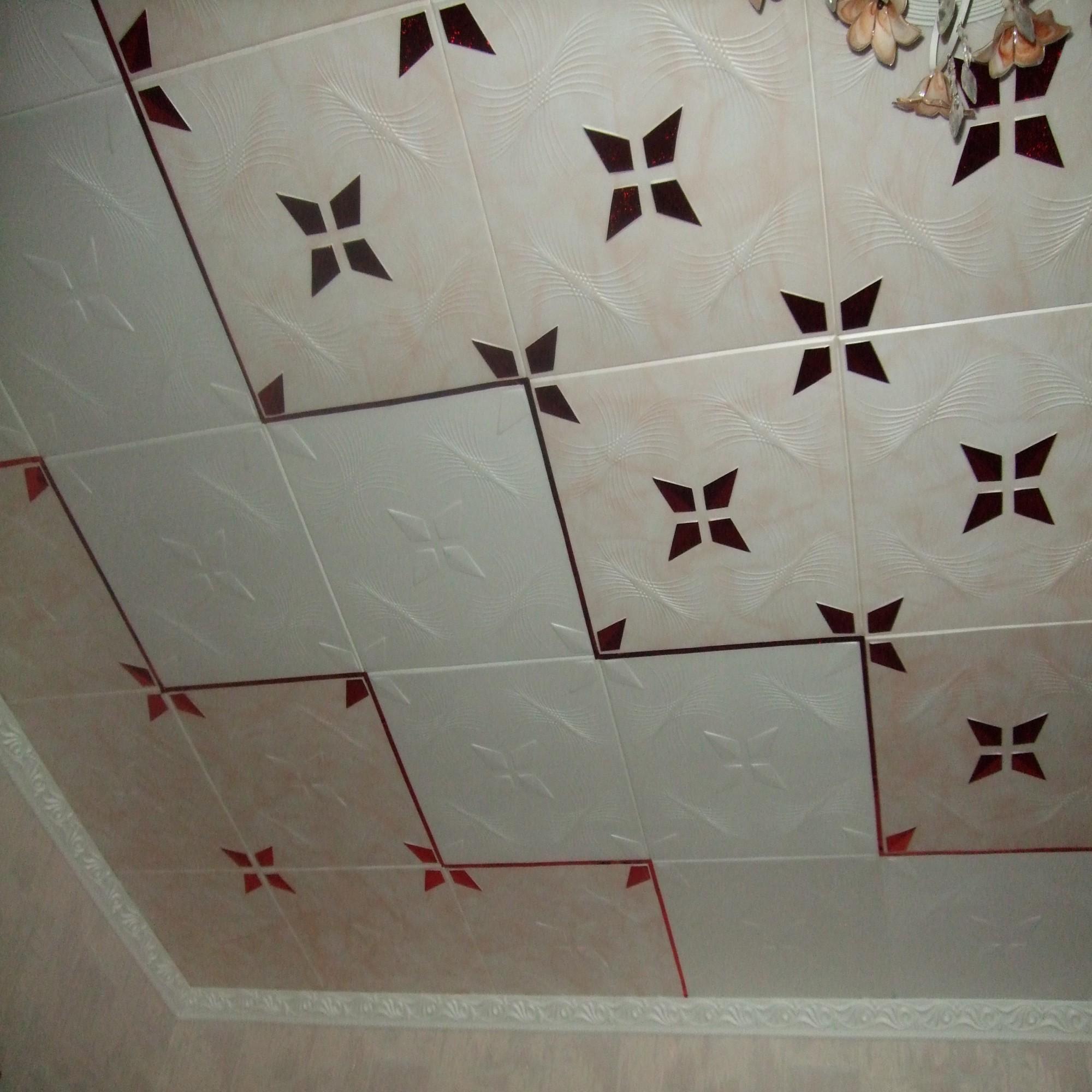 плитка фото потолочная для ванны