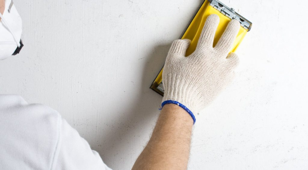 Шлифовка шпатлевки стен зачем нужны наливные полы для гаража