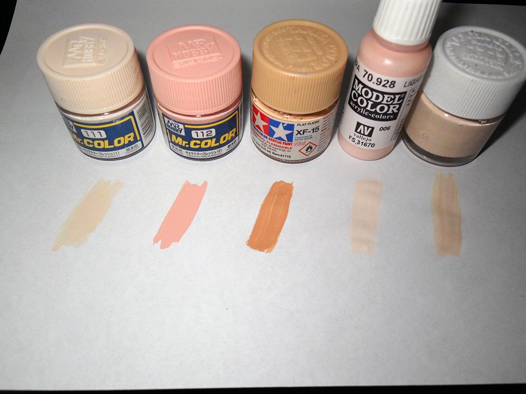 Как сделать цвет кожи гуашью фото 635