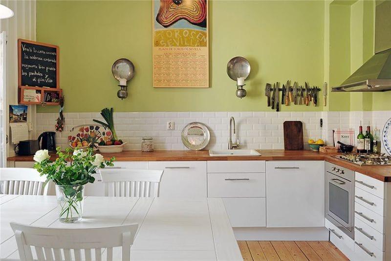 Какую краску выбрать для покраски стен на кухне наливной пол s level
