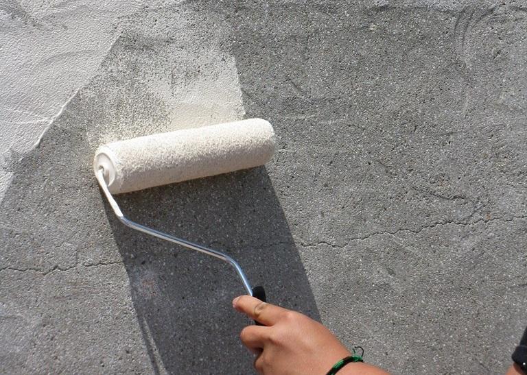 Покрасить по бетону сколько песка в цементном растворе