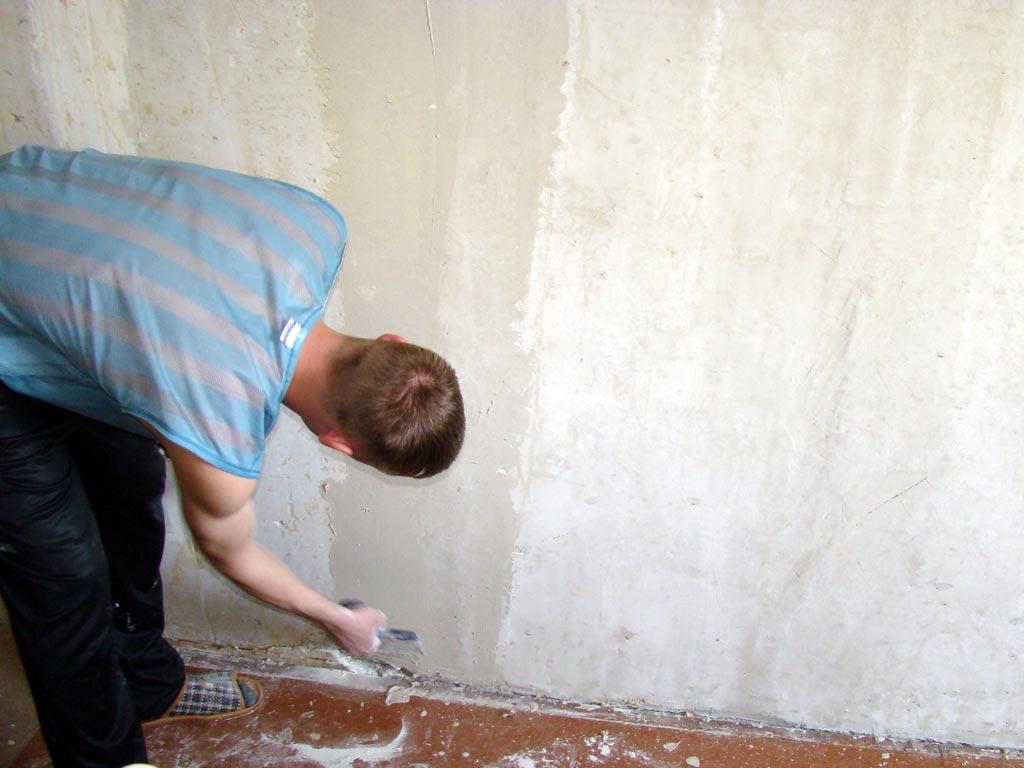 Выравнивание стен под обои: три проверенных способа.