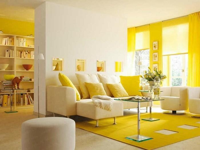Лимонная гостиная