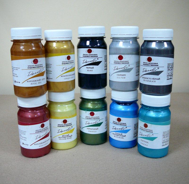 Краски для росписи