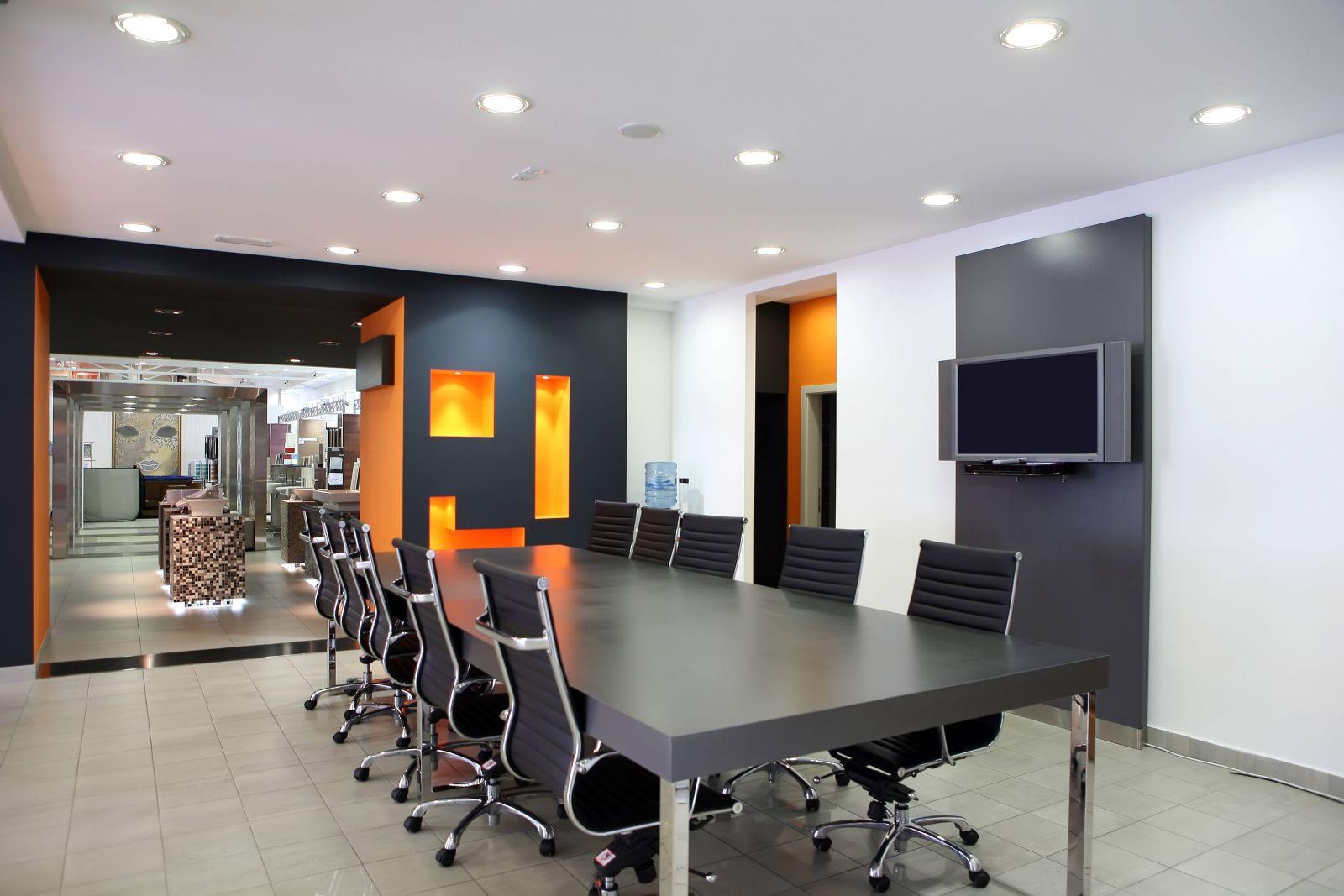 Покраска офиса цвета