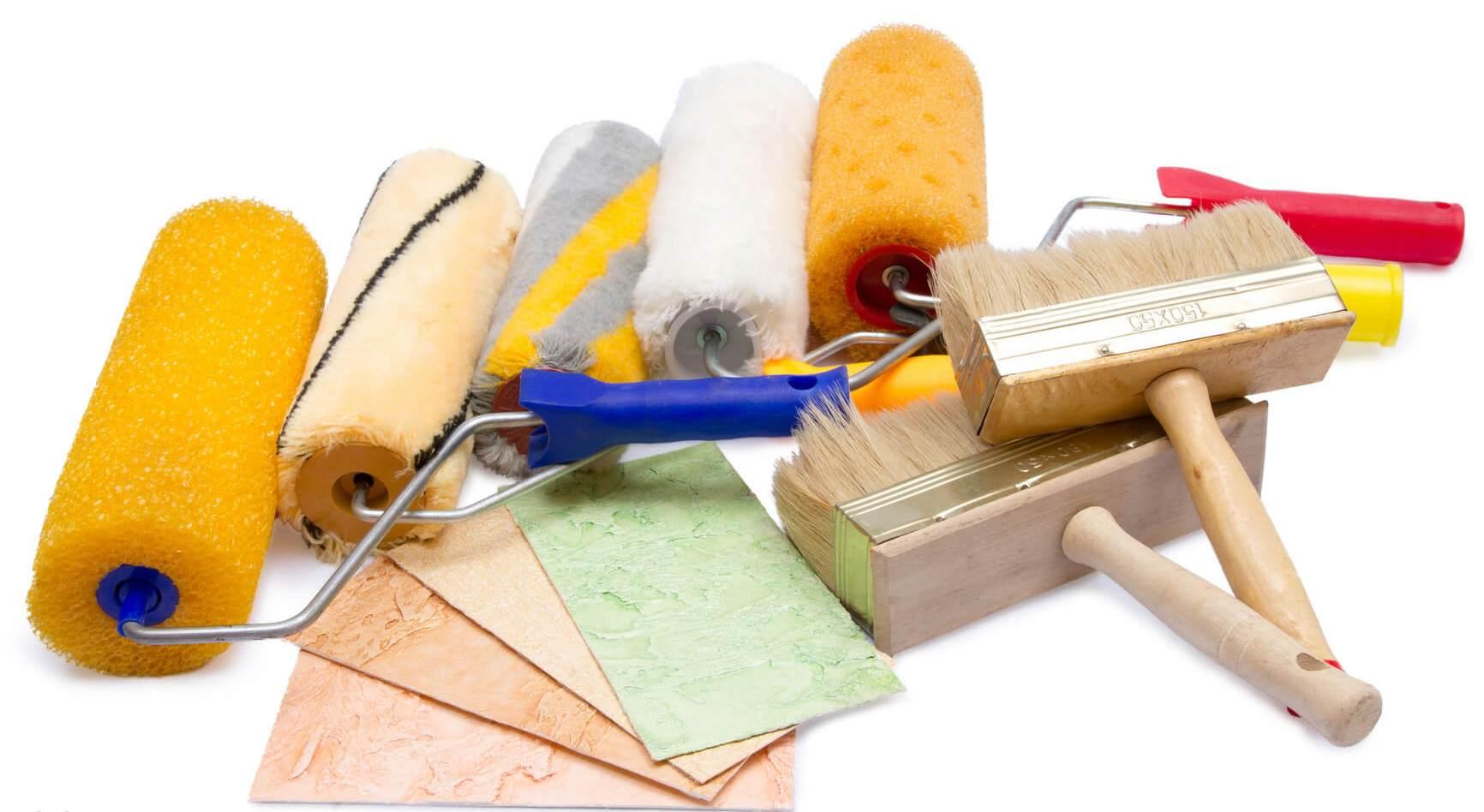 Инструменты для декоративной покраски стен