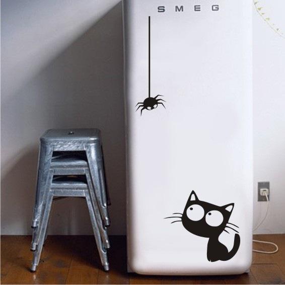 Открытки, прикольные рисунки на холодильниках